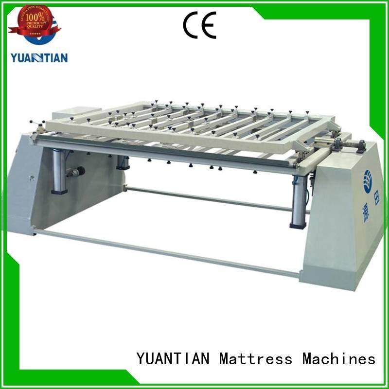 foam mattress making machine bending YUANTIAN Mattress Machines Brand mattress packing machine