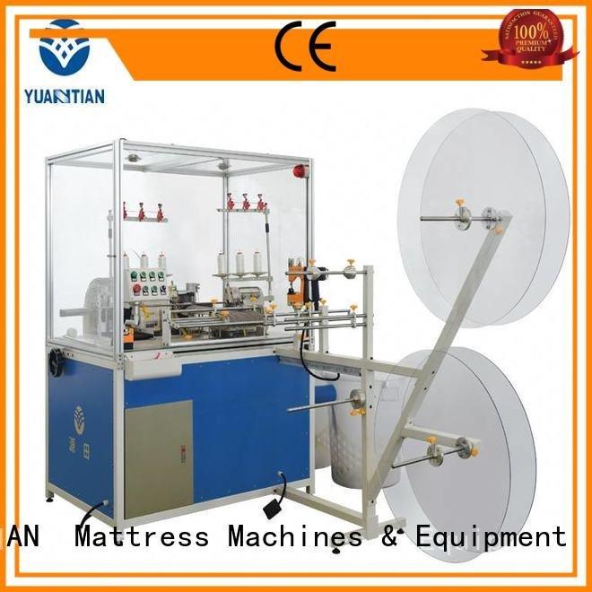YUANTIAN Mattress Machines Brand heads flanging Double Sewing Heads Flanging Machine heavyduty machine