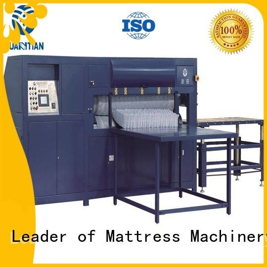 unpressing mattress wire packing YUANTIAN Mattress Machines mattress packing machine