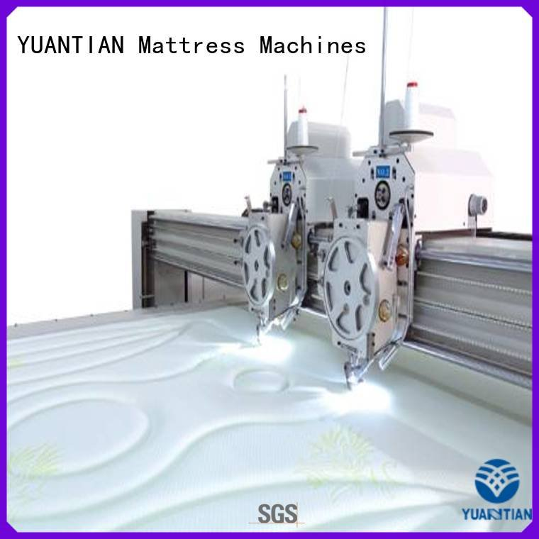 OEM quilting machine for mattress price highspeed multineedle border quilting machine for mattress