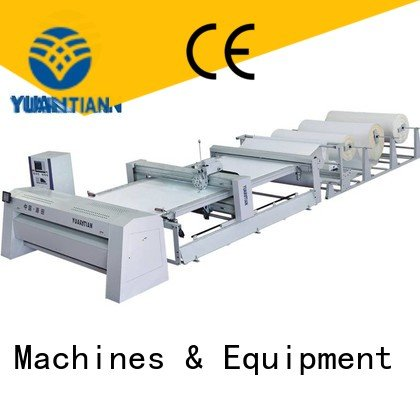Hot quilting machine for mattress price heads quilting machine for mattress multineedle YUANTIAN Mattress Machines
