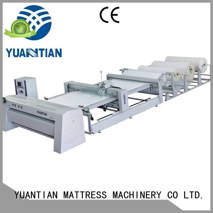 YUANTIAN Mattress Machines double machine quilting machine for mattress dzhf1g bhf1