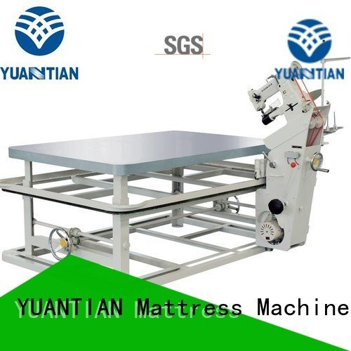 mattress tape edge machine table binding mattress tape edge machine YUANTIAN Mattress Machines Warranty