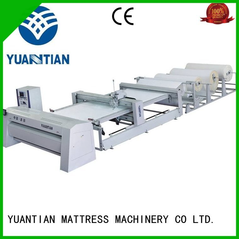 YUANTIAN Mattress Machines Brand quilting single double needle quilting machine for mattress