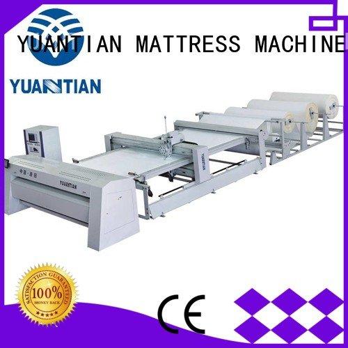singleneedle wbsh1 YUANTIAN Mattress Machines quilting machine for mattress price