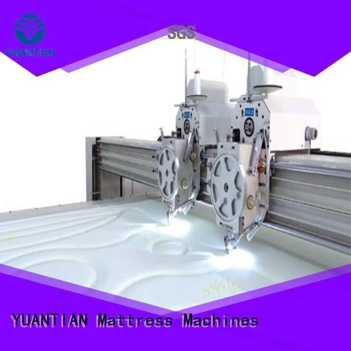 quilting machine for mattress price double multineedle OEM quilting machine for mattress YUANTIAN Mattress Machines