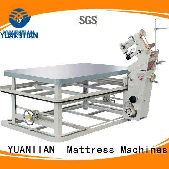 mattress tape edge machine tape table top YUANTIAN Mattress Machines