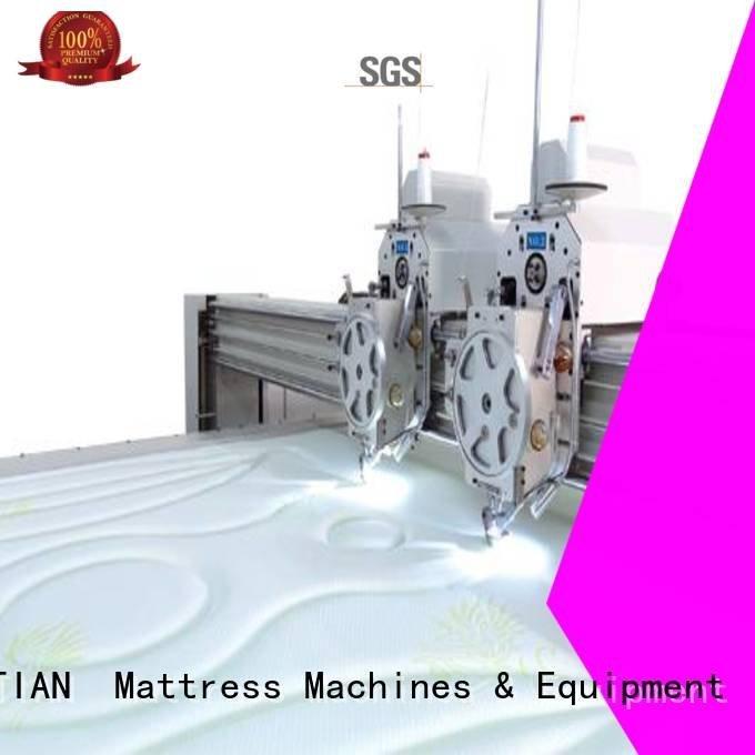 quilting machine for mattress price lockstitch border OEM quilting machine for mattress YUANTIAN Mattress Machines