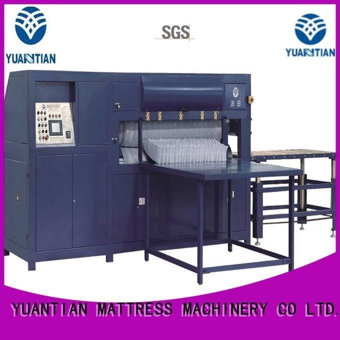 Quality foam mattress making machine YUANTIAN Mattress Machines Brand mattress mattress packing machine