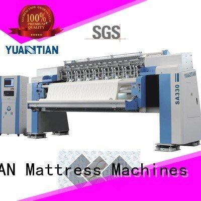 multineedle mattress stitching quilting machine for mattress YUANTIAN Mattress Machines