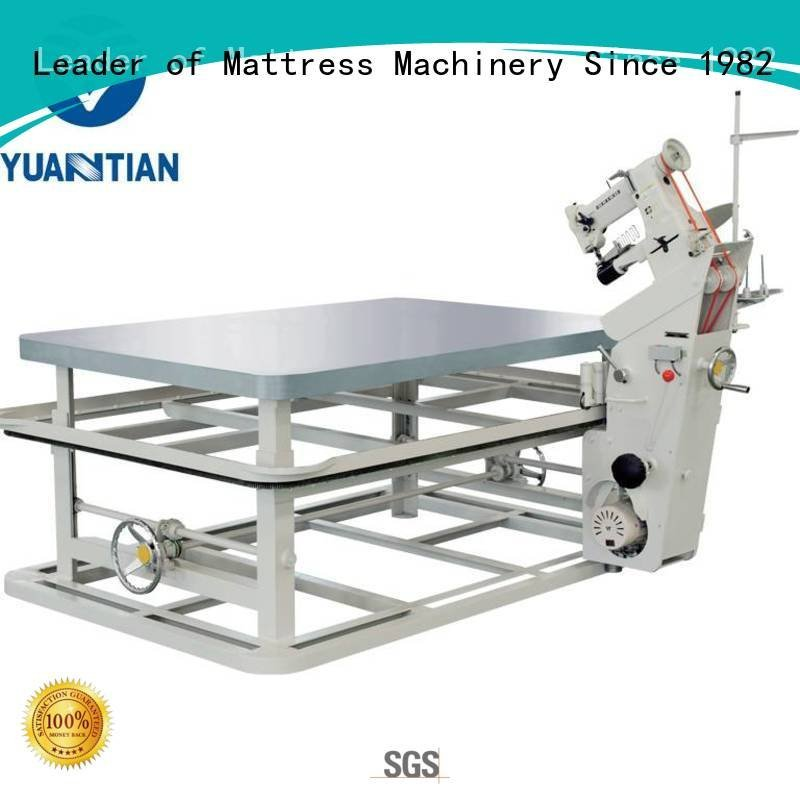 machine tape edge top YUANTIAN Mattress Machines mattress tape edge machine