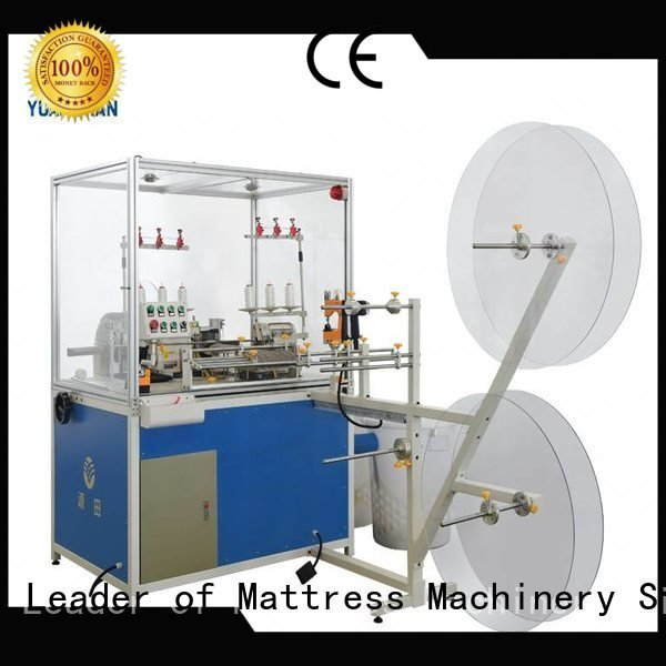heads double Mattress Flanging Machine mattress YUANTIAN Mattress Machines