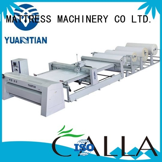 YUANTIAN Mattress Machines Brand stitching quilting side quilting machine for mattress price machine