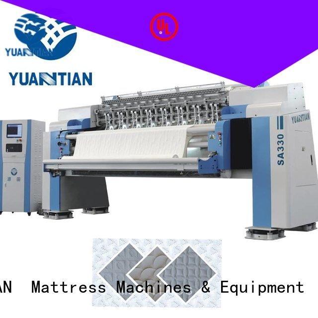 YUANTIAN Mattress Machines quilting machine for mattress price mattress border double