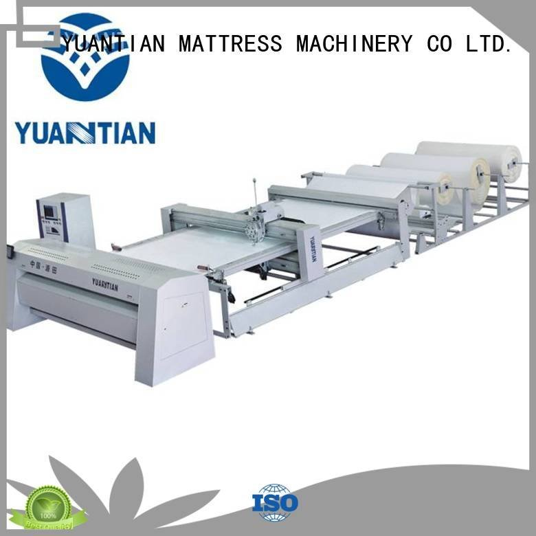 quilting machine for mattress price four quilting singleneedle YUANTIAN Mattress Machines
