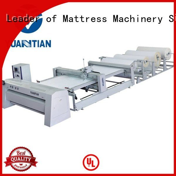YUANTIAN Mattress Machines Brand heads quilting machine for mattress price singleneedle multineedle