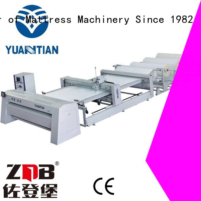 YUANTIAN Mattress Machines Brand double quilting machine for mattress quilting factory