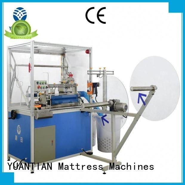 YUANTIAN Mattress Machines Brand multifunction Double Sewing Heads Flanging Machine mattress machine