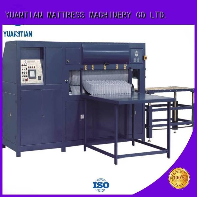 unit wire unpressing YUANTIAN Mattress Machines mattress packing machine