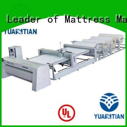 YUANTIAN Mattress Machines quilting machine for mattress side wbsh1 four heads