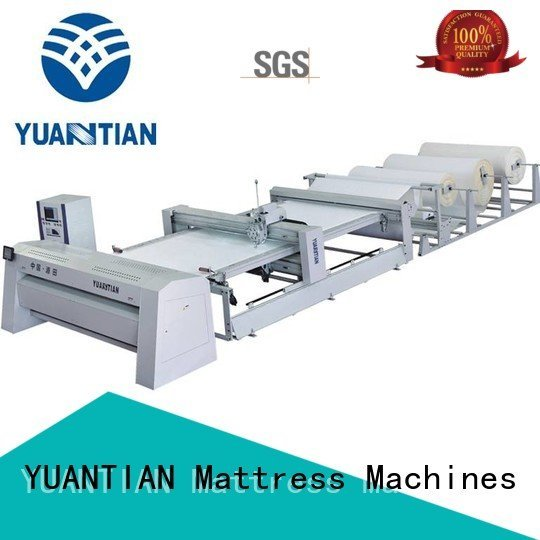 Hot quilting machine for mattress price machine YUANTIAN Mattress Machines Brand