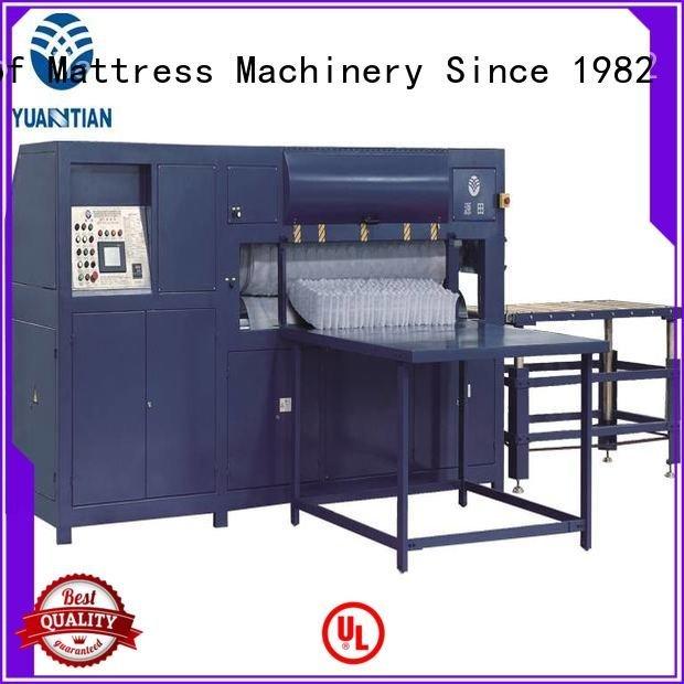YUANTIAN Mattress Machines foam mattress making machine bending spring packing