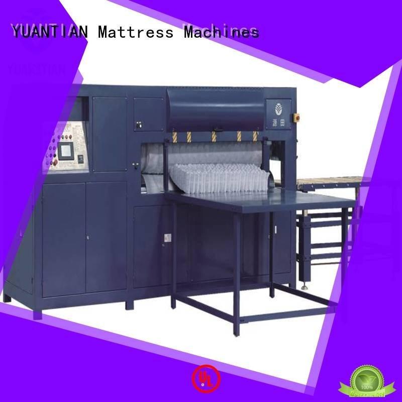 YUANTIAN Mattress Machines packing machine rollpack foam mattress making machine wire
