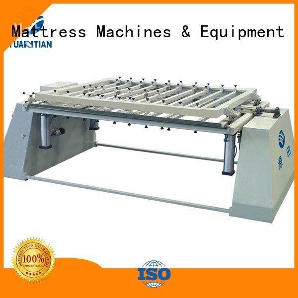 automatic border mattress foam mattress making machine YUANTIAN Mattress Machines