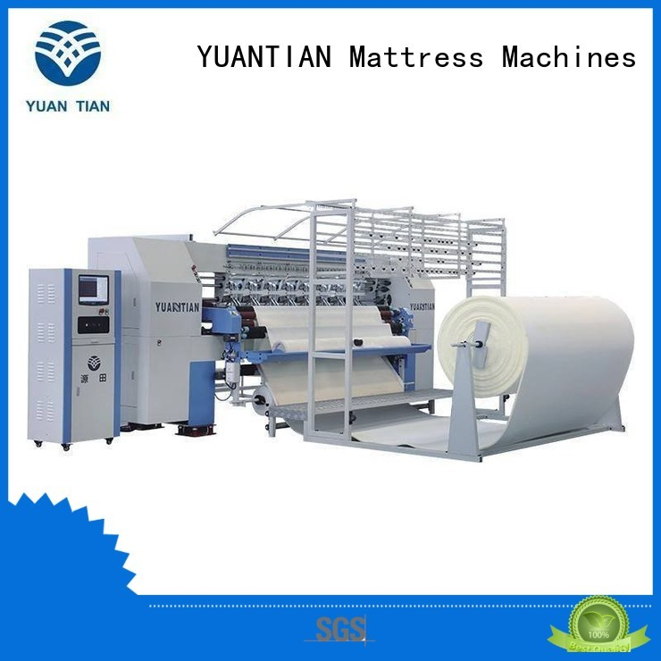 four quilting quilting machine for mattress singleneedle YUANTIAN Mattress Machines company