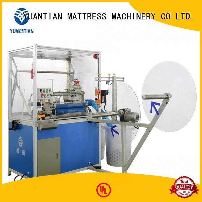 Double Sewing Heads Flanging Machine machine heavyduty sewing double YUANTIAN Mattress Machines