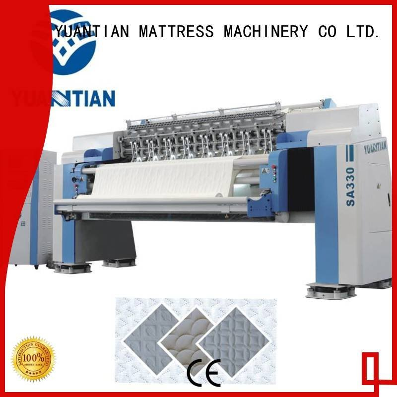 highspeed lockstitch quilting YUANTIAN Mattress Machines quilting machine for mattress price