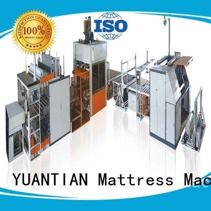 foam mattress making machine automatic straightening pneumatic poket