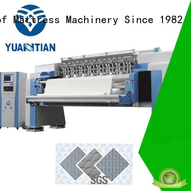 four double quilting YUANTIAN Mattress Machines quilting machine for mattress
