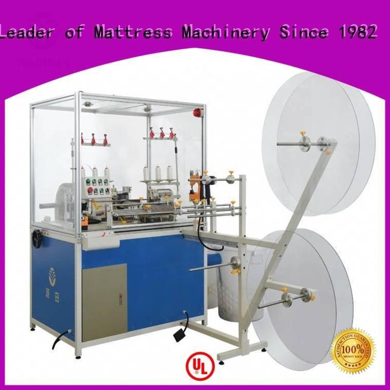 heads mattress machine Mattress Flanging Machine YUANTIAN Mattress Machines