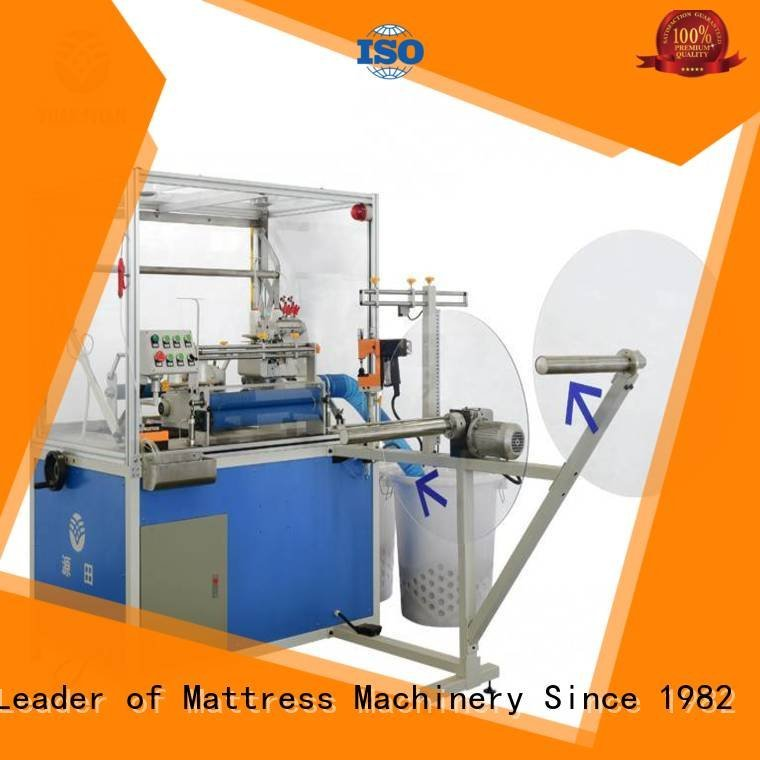 heads mattress double Double Sewing Heads Flanging Machine YUANTIAN Mattress Machines
