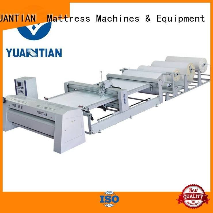 double heads YUANTIAN Mattress Machines quilting machine for mattress