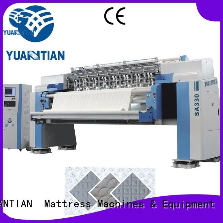 YUANTIAN Mattress Machines Brand needle quilting machine for mattress price single four