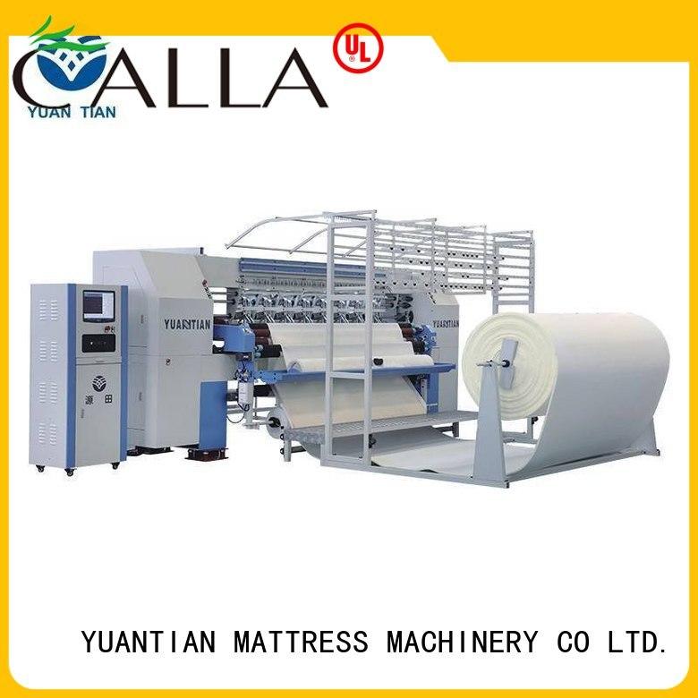 quilting machine for mattress price heads single machine YUANTIAN Mattress Machines Brand