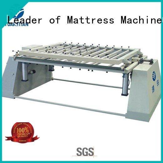 YUANTIAN Mattress Machines pneumatic bending unit foam mattress making machine unpressing