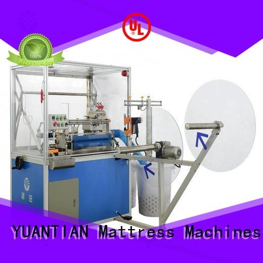Double Sewing Heads Flanging Machine machine YUANTIAN Mattress Machines Brand Mattress Flanging Machine