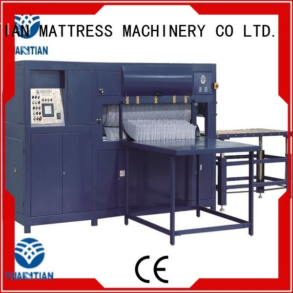 foam mattress making machine pneumatic automatic mattress packing machine YUANTIAN Mattress Machines Warranty