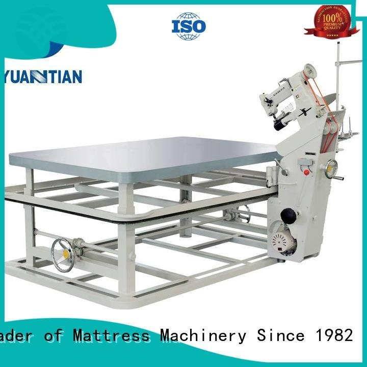 mattress tape edge machine wpg2000 mattress tape edge machine YUANTIAN Mattress Machines Brand