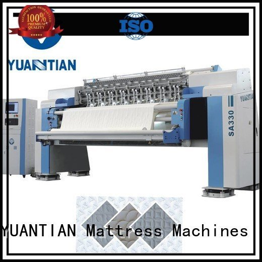 quilting machine for mattress price quilting side OEM quilting machine for mattress YUANTIAN Mattress Machines
