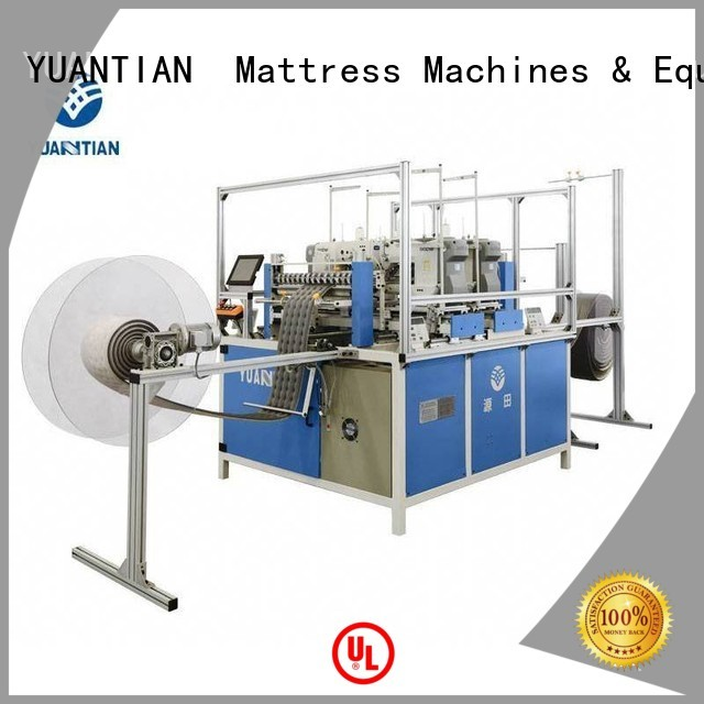 arm computerized autimatic YUANTIAN Mattress Machines Brand singer  mattress  sewing machine price manufacture