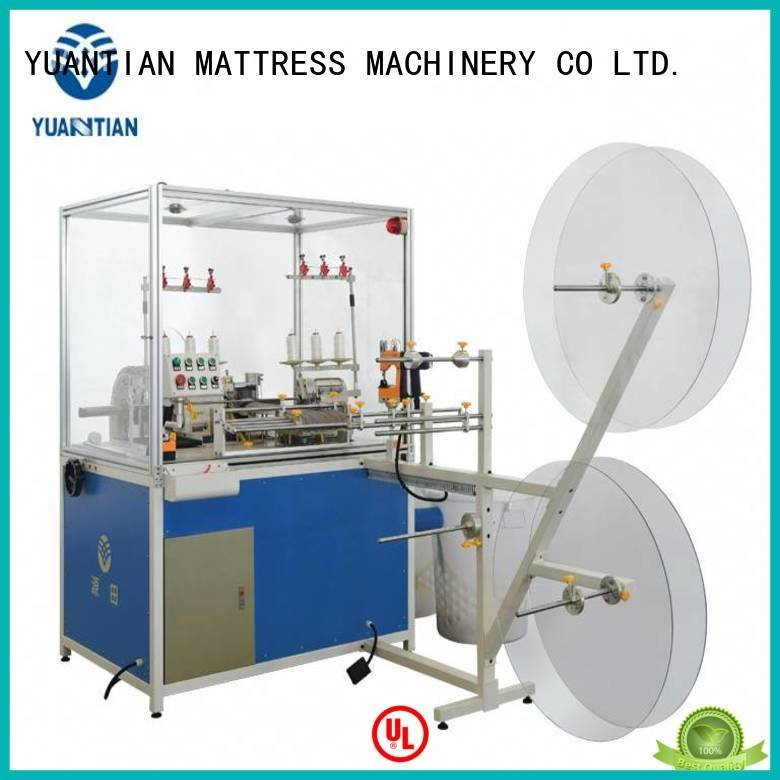 OEM Mattress Flanging Machine heavyduty multifunction Double Sewing Heads Flanging Machine