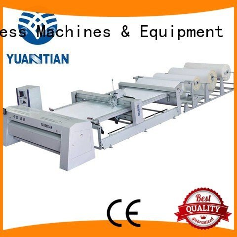 needle four multineedle YUANTIAN Mattress Machines quilting machine for mattress price
