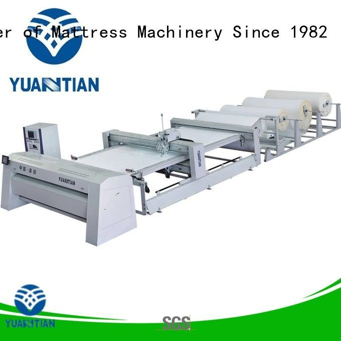 YUANTIAN Mattress Machines Brand single quilting machine for mattress price singleneedle double