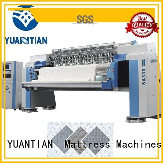 quilting machine for mattress price four YUANTIAN Mattress Machines Brand quilting machine for mattress