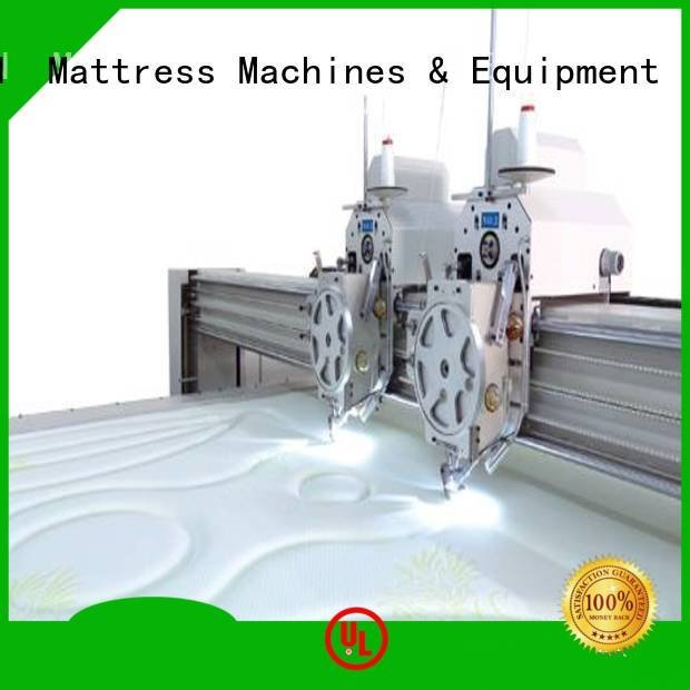 double single multineedle quilting machine for mattress YUANTIAN Mattress Machines