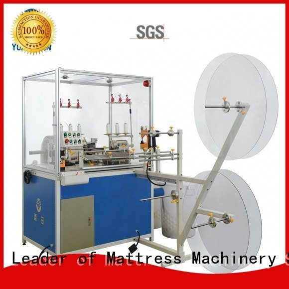 flanging heads double sewing YUANTIAN Mattress Machines Double Sewing Heads Flanging Machine